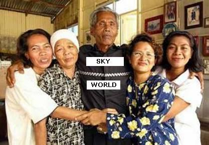 Ayah Pin dan isteri-isterinya.