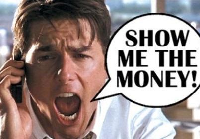 tom cruise show me the money