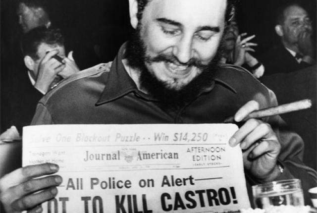 Fidel Castro cubaan bunuh 600 kali