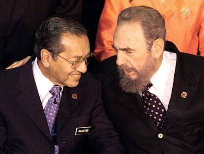 Tun Mahathir Fidel Castro