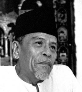 Buya Hamka atau nama sebenarnya Haji Abdul Malik Karim Amrullah. Imej dari persisalamin.