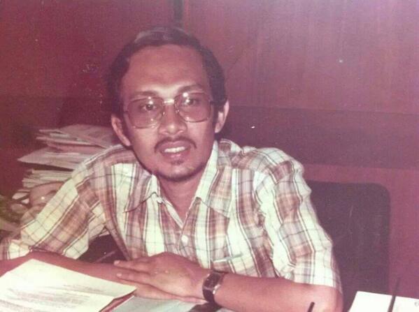 Anwar sewaktu dia jadi presiden ABIM.