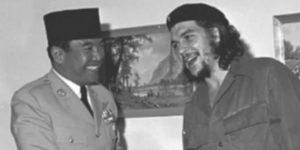 Che Guevara kawan baik Soekarno. Imej dari Merdeka.com
