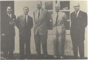 Antara ahli Suruhanjaya Cobbold yang ditubuhkan pada 17 Jan 1962. Imej dari Arkib Negara Malaysia.
