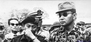 Jeneral Soeharto ketika peristiwa Gestapo. Imej dari Soeharto.co