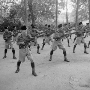Rejimen Askar Melayu DiRaja pada tahun 1941. Imej dari Wikipedia.