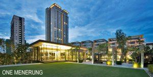 Salleh didakwa beli 2 condo kat Kompleks One Menerong. Imej dari Invest Malaysia Properties.