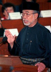 Ustaz Fadzil Noor tegas dalam pertahankan kesyahidan Ibrahim Libya. Imej dari pondoktauhid.blogspot.