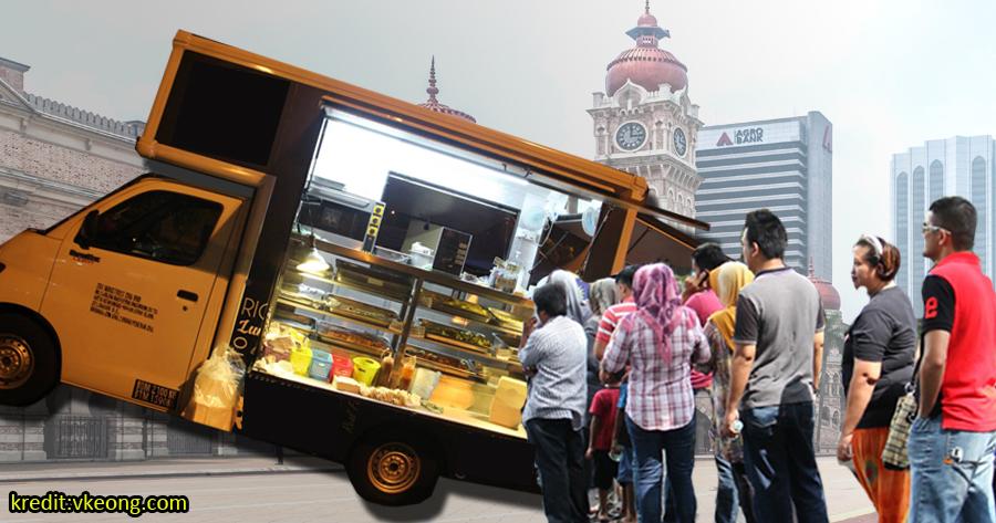 Pendapatan Bulanan Food Truck Boleh Cecah RM45K Seriously