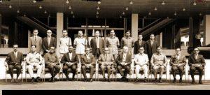Majlis Gerakan Negara (MAGERAN) dibubarkan pada 1971. Imej dari Majlis Keselamatan Negara.gov.