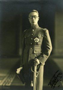 Pu Yi sebagai Maharaja Manchukuo. Imej dari World War II Database.