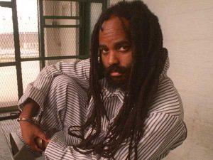 Mumia ketika dalam tahanan pada tahun 1990an. Imej dari philly.com