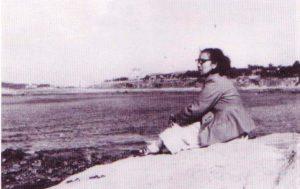 Shamsiah di China pada 1961. Imej dari