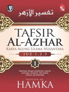 Tafsir al-Azhar diterbitkan dengan 9 jilid. Imej dari pts.com.