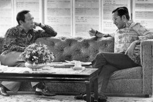 Tun Musa dakwa yang dia letak jawatan sebab dituduh cuba gulinglkan Dr Mahathir. Imej dari The Star.