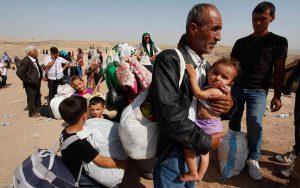 OSF banyak terlibat dalam aktiviti melindungi pelarian. Imej dari syrianef.org.