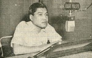 Wahi Anuar, ketika ditemuramah Radio Malaya. Imej dari sokmo.net