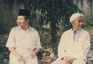 Tengku Razaleigh & Tuan Guru Nik Aziz. Imej dari ditelanzaman.blogspot